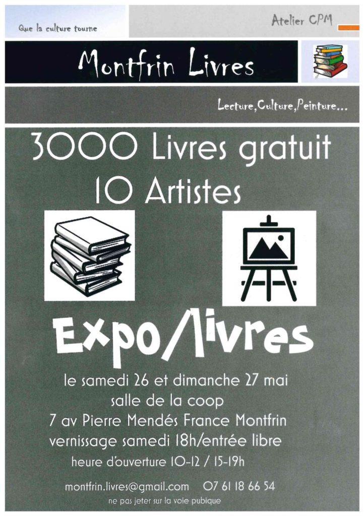Expo-livres à Montfrin