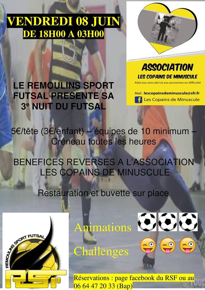 3ème Nuit du Futsal à Remoulins