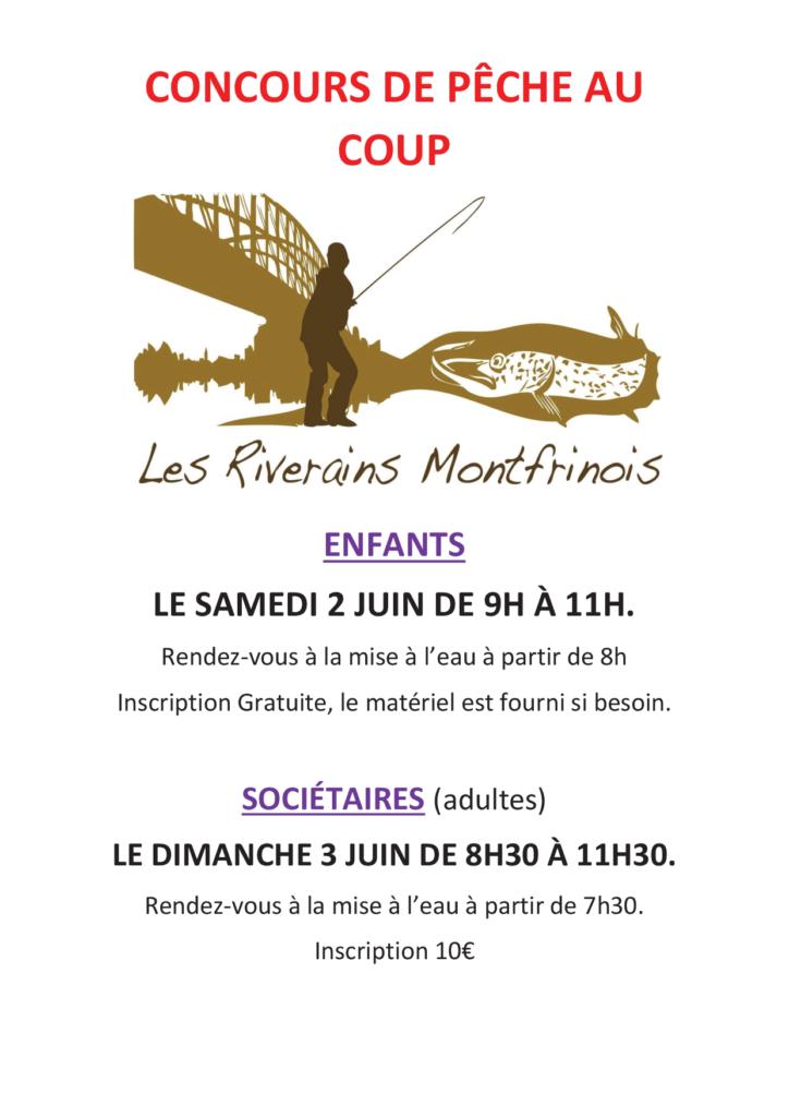 Concours de Pêche au coup - Montfrin