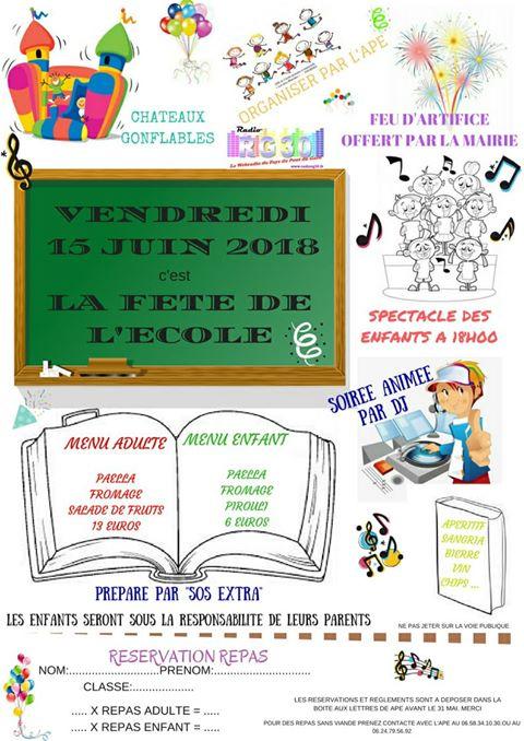 Fête de l'Ecole des Aires Blanches