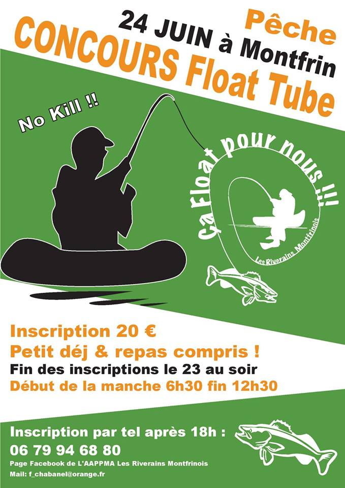 Pêche : Concours Float Tube