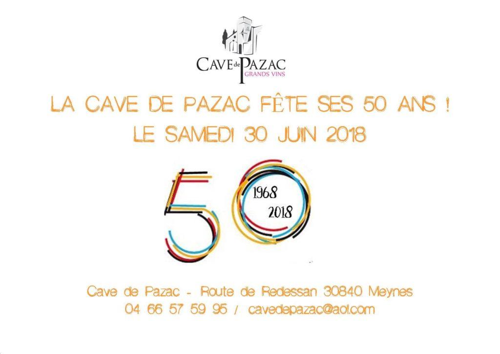50 ans de la Cave de Pazac