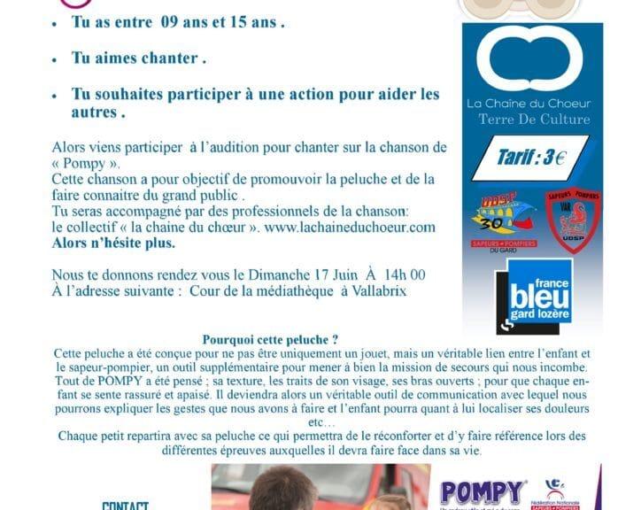 """RG30 et vous , la chronique : Audition """"POMPY"""" avec Marie de l' UDSP du Gard"""