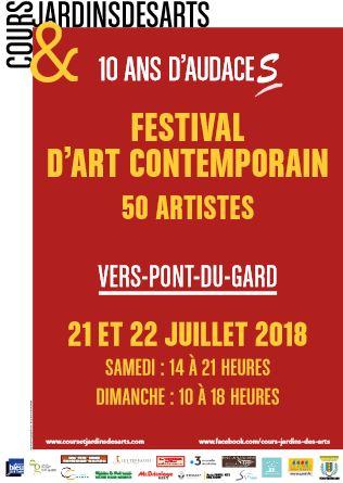 Festival Cours & Jardins des Arts, 10 ans d'audace !