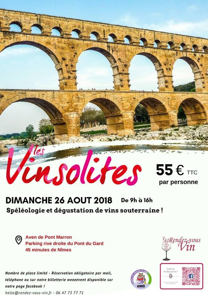Vinsolite #3 : Spéléologie et dégustation de vins souterraine !