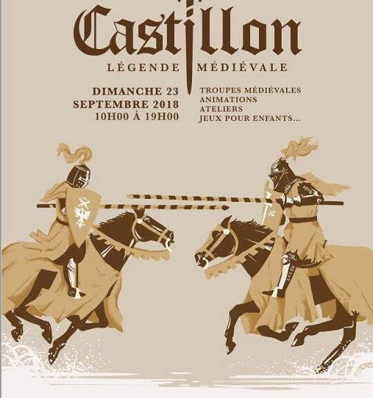castillon journée médiévale 092018