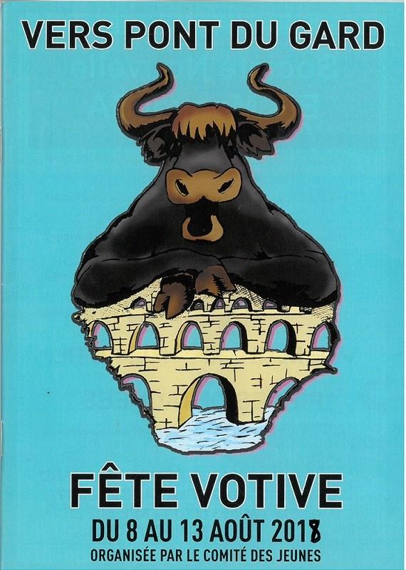 Fête Votive 2018 de Vers Pont-du-Gard