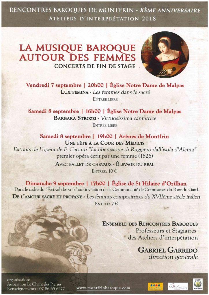 La Musique Baroque autour des Femmes