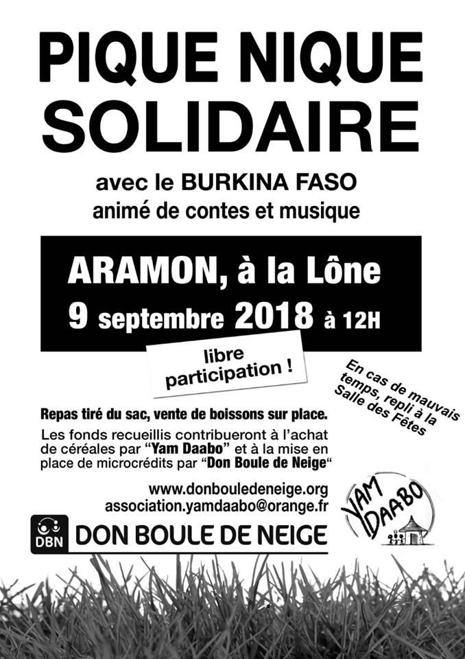 Pique-nique solidaire avec Yam Daabo & Don Boule de Neige