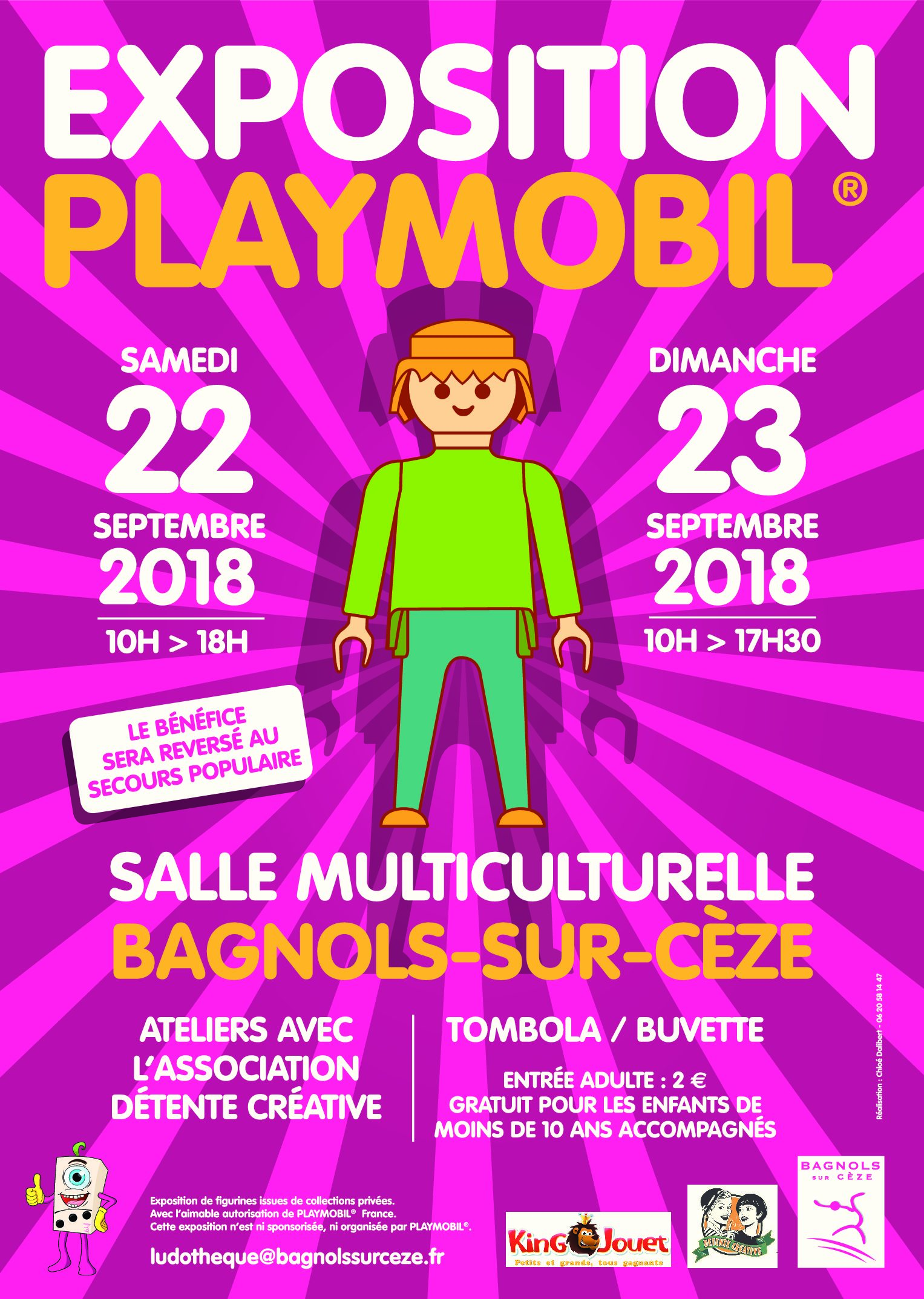 Exposition Playmobil®