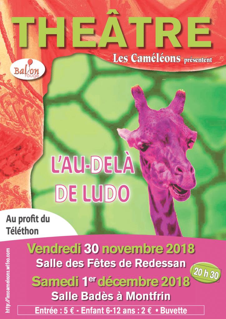 Théâtre: L'au delà de Ludo (Téléthon 2018)