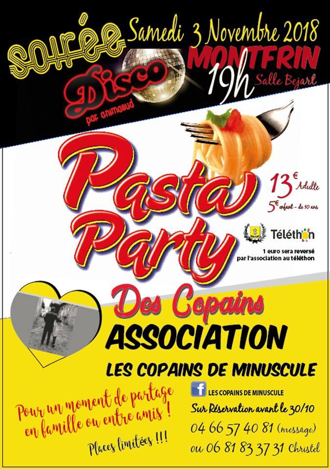 Pasta Party (Téléthon 2018)