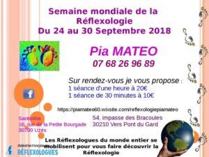 Semaine Mondiale de la Réflexologie 2018