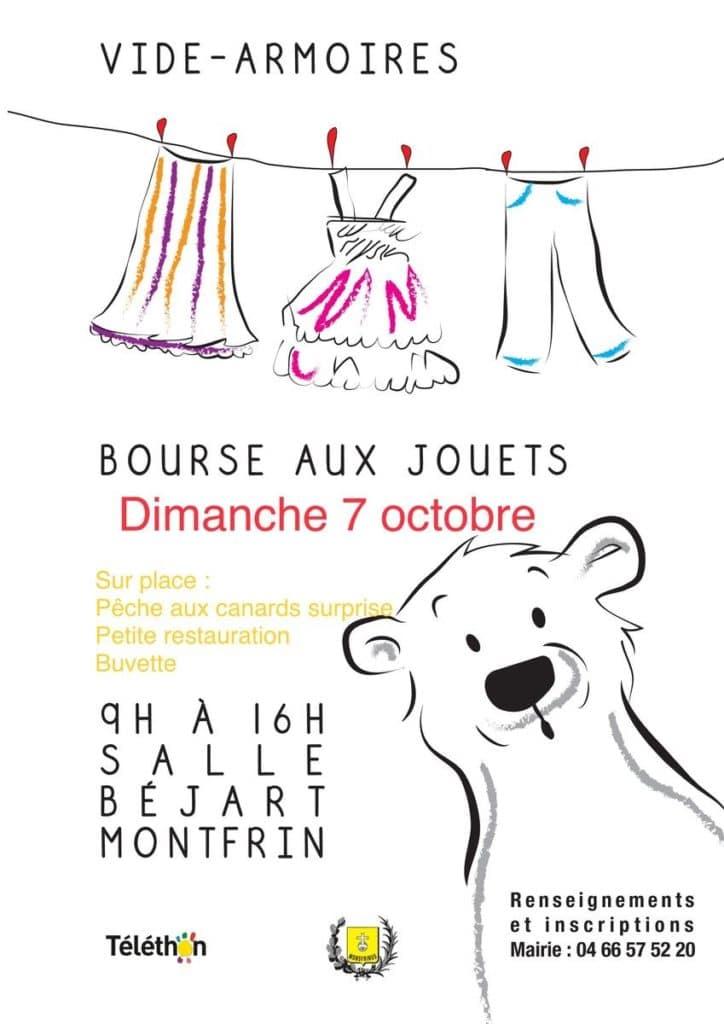 Vide Armoires - Bourse aux Jouets (Téléthon 2018)