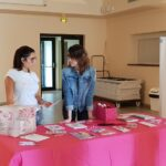 Stand de la Ligue Contre le Cancer du Gard pour Aramon en Rose