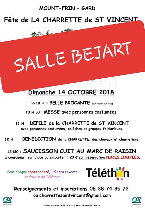 25ème Journée Charrette de Saint Vincent (Téléthon 2018)