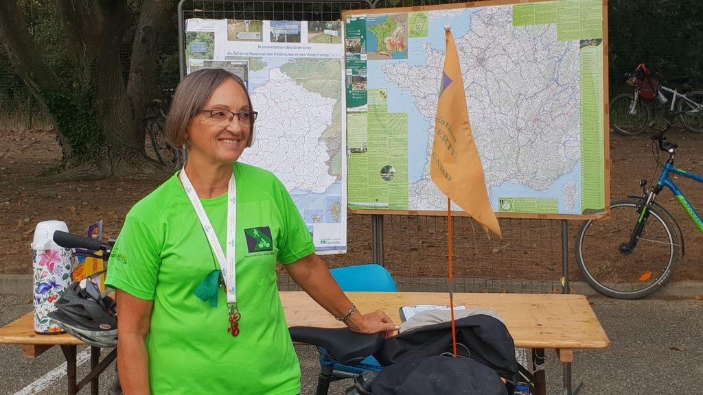 Agnès (Association Voie Verte Du Pont Du Gard)