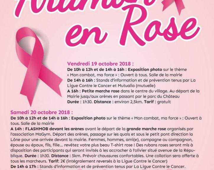 RG30 ET VOUS : Aramon en Rose avec Martine ESCOFFIER