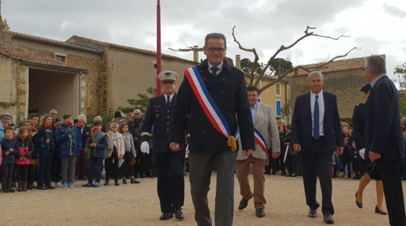 Cérémonie du 11 Novembre 2018 à Montfrin