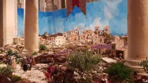Creche Provençale à Comps 2018