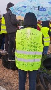 """Mouvement """"Gilets Jaunes"""" Remoulins"""