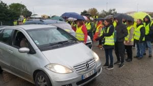 "Mouvement ""Gilets Jaunes"" Rond Point Remoulins"