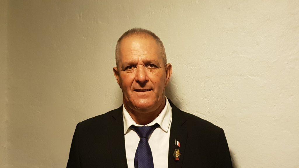 Président de l'association des anciens combattants et victimes de guerre de Montfrin