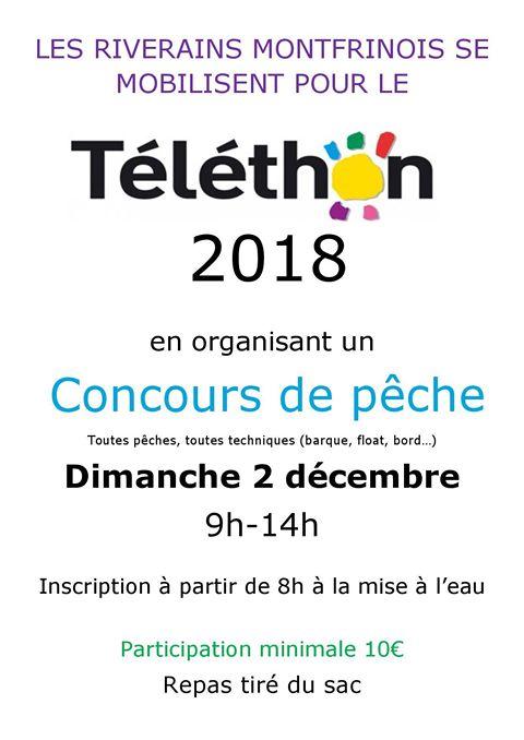 Concours de Pêche - (Téléthon 2018)