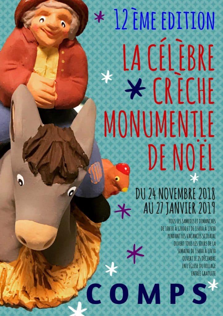 12ème Edition : La Crèche Provençale de Comps.