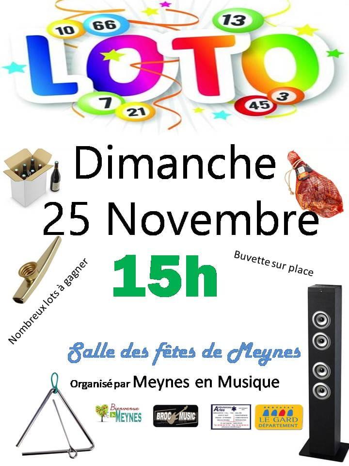 Loto Meynes en Musique