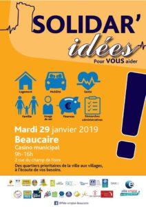 Solidar'idees à Beaucaire 29 Janvier 2019