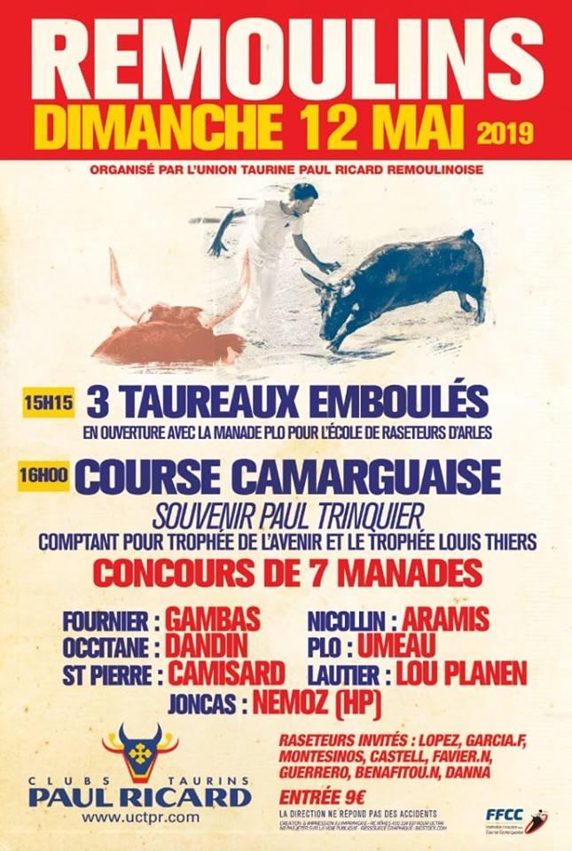 Course Avenir : Souvenir Paul Trinquier- Remoulins