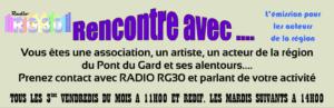 Rencontre avec ... l'émission des acteurs de la région sur RADIO RG30