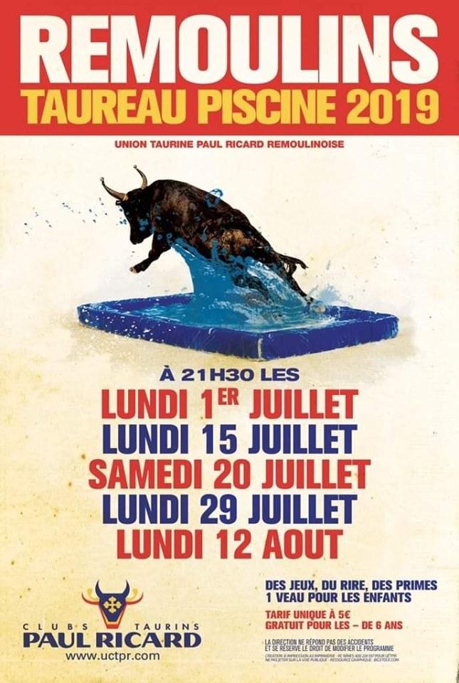 Toro Piscine 2019 - Remoulins