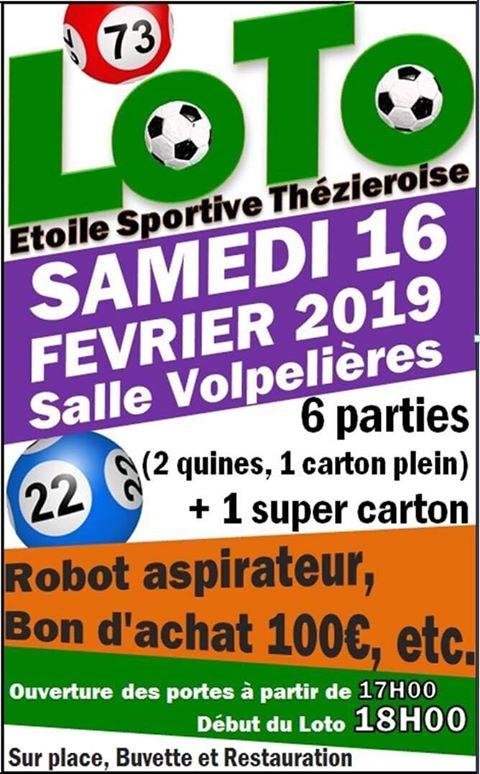 Loto Etoile Sportive Thézieroise 2019