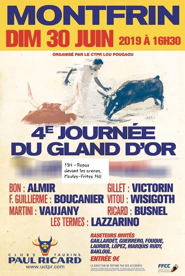 4ème journée du Gland d'Or 2019 Montfrin