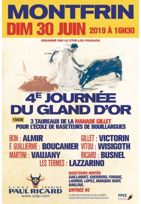 4ème Journée du Gland d'Or - Montfrin 2019