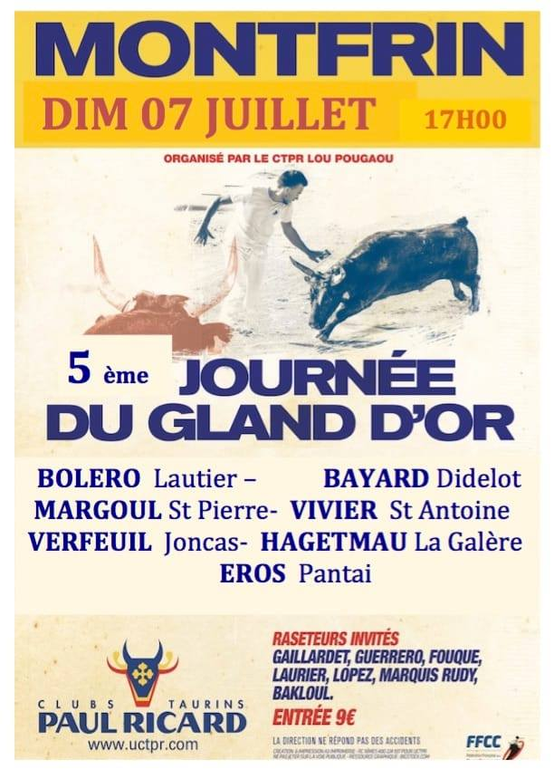 5ème journée du Gland d'Or 2019 Montfrin