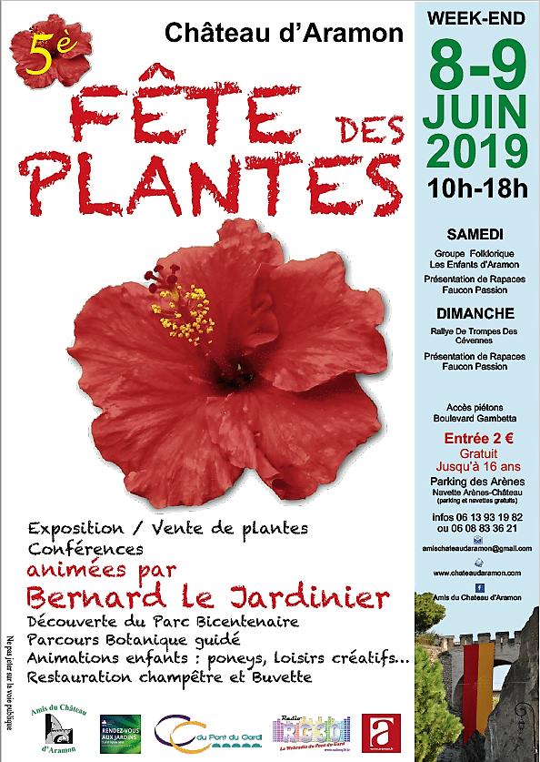5ème Fête des Plantes du Château d'Aramon