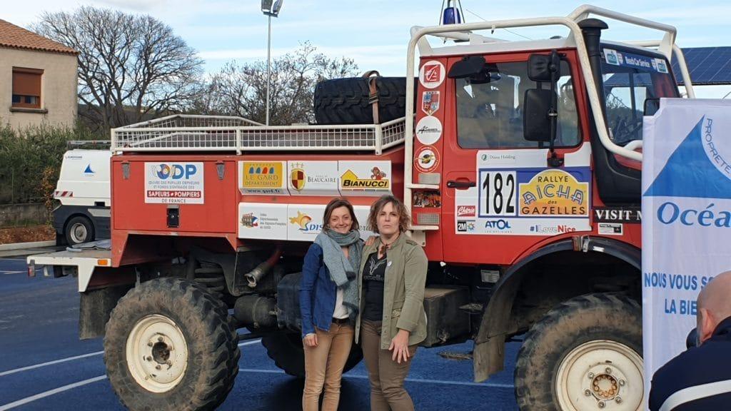 Journée avec Séverine et Amélie (Les Roll Over) - Présentation avant le départ au Rallye Aïcha des Gazelles 2019