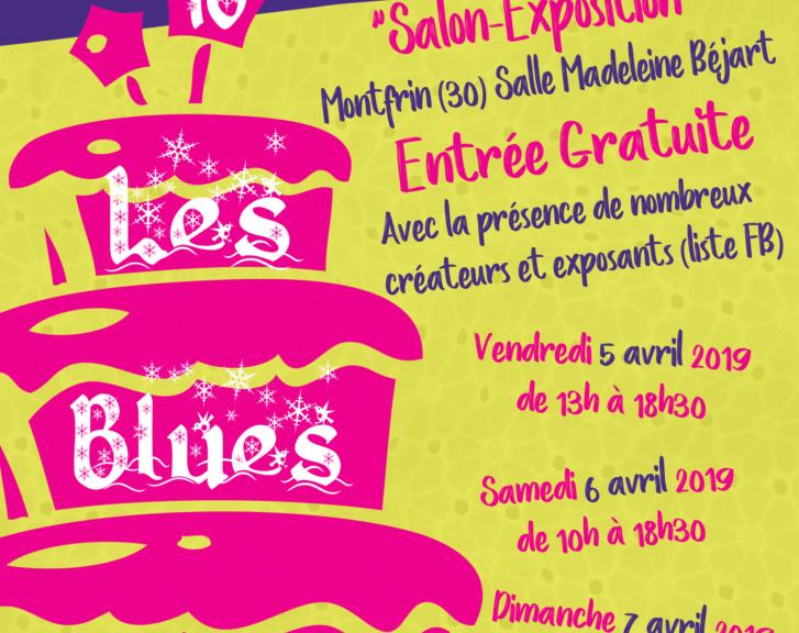 Salon Exposition Les Blues Brodeuses 10 ans Avril 2019