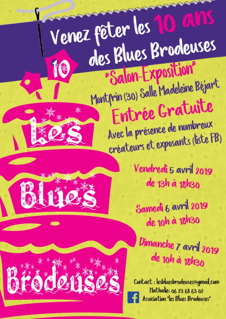5ème Salon des Blues Brodeuses