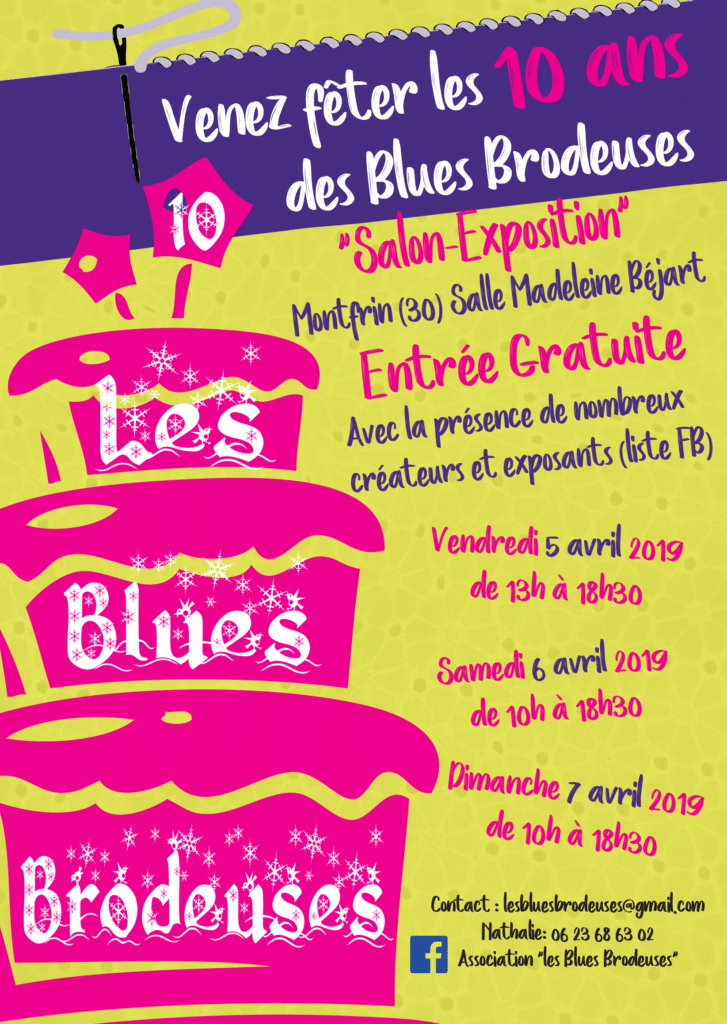 5ème Salon des Blues Brodeuses