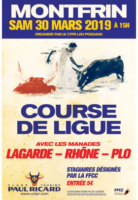Course de Ligue 2019 Montfrin