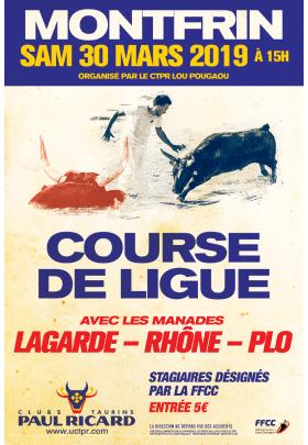 Course de Ligue 2019 Montfrin