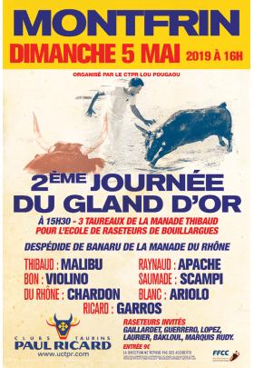 2ème journée du Gland d'Or 2019 Montfrin