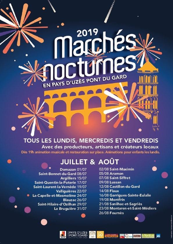 Marchés Nocturnes 2019