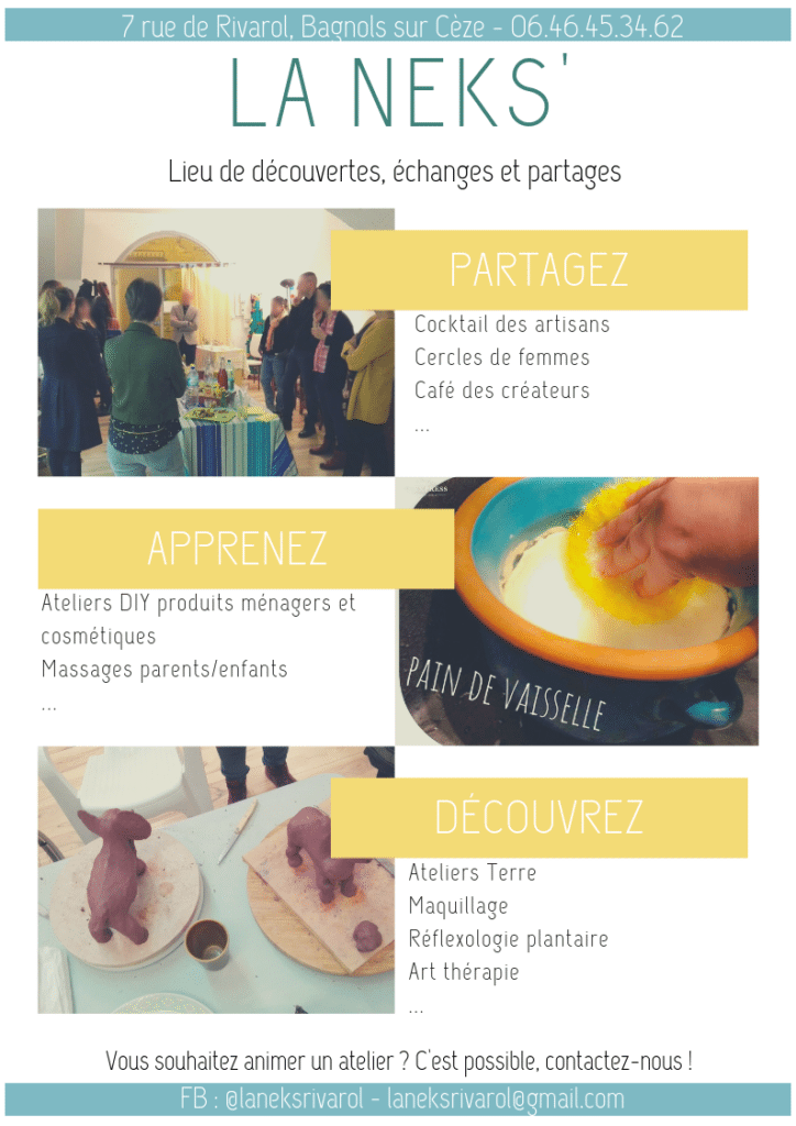 Atelier modelage parent/enfant