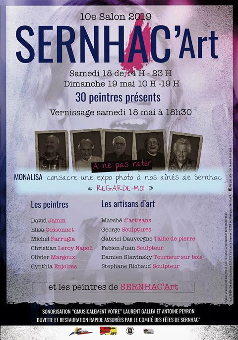 10ème Salon SERNHAC'Art