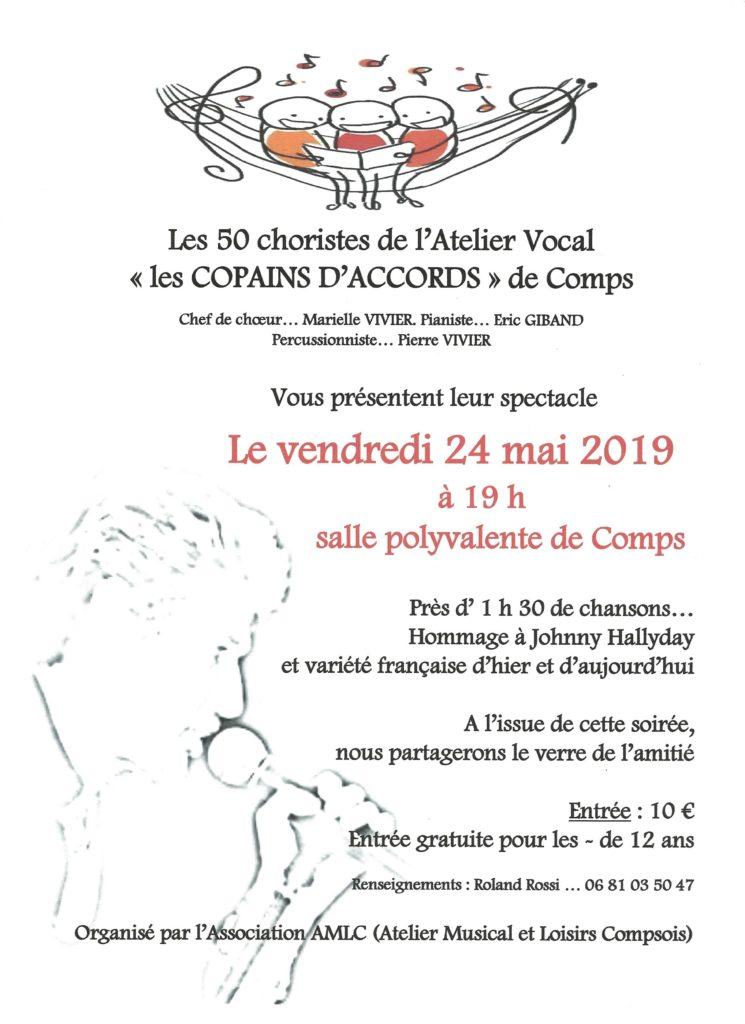"""Concert Atelier chant """"LES COPAINS D'ACCORD"""""""